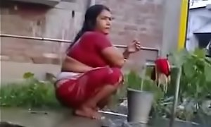 Indian Erotic Mature Spliced Rides on White Dick (new)