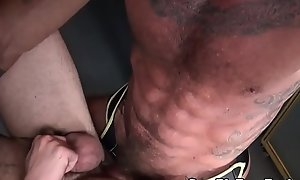 Barebacking mature reside bonking ass late