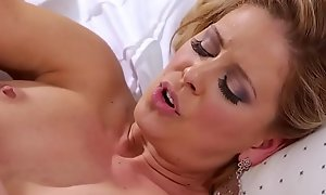 Alli Rae licking her step-mom Cherie DeVille'_s pussy