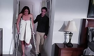 Blarney loving stepmom pussyfucked by stepson