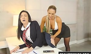 RealityKings - Mommys At a loss for words Teens - Spank Me starring Kiley Jay and Tegan James