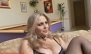 Blacksruinblondes.com blond nourisher milf cogar pussy ruined away from beast Negroid cock
