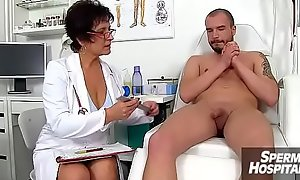 Mom boy medical porn scene feat. Czech MILF adulterate Gabina