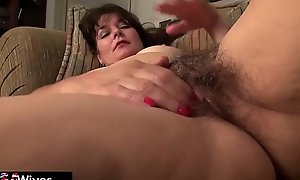 USAwives Grandmas caring adult toys compilation