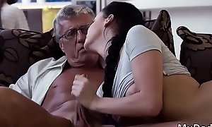 Old mom enjoys and teach me sex old man What would you choose -