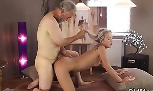 Old mature masturbating with the addition of fat man obese tits Sexual geography