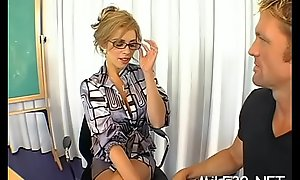 Busty mature darling is getting her wild piece of baggage devoured