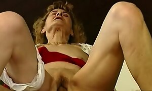 hairy 81 years old mom needs guestimated sex
