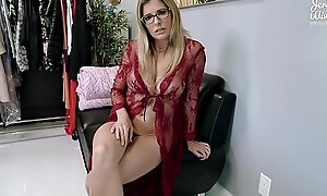 PAWG Step Mom wants me to Fuck Her Ass before my Dad comes Home - Cory Chase