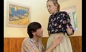 Granny got their way Victorian aged irritant anal screwed