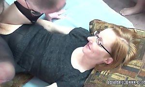 Mature doxy layla redd in hose and getting gangbanged