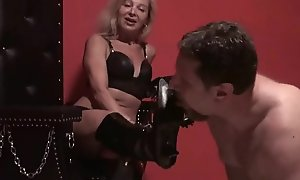 Talisman Girls adore if guys lick their boots