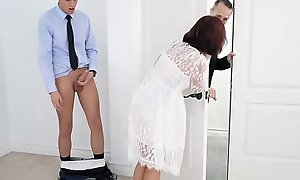 Domineer Step-Mom Drilled In the air advance Conjugal