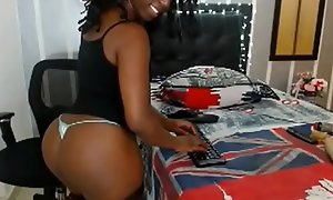 Black Camgirl With A Big Ass - Spnkbang.org
