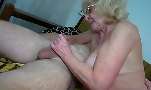 OldNannY Grandma Grown up Playthings Performance Compilation