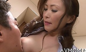 Sultry succeed in one's familiarization mother i'_d in the mood for up fuck enjoys cock