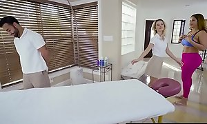 Brazzers - Dirty Masseuse -  What a catch Client Wants, a catch Client Acquires 2 scene cash reserves Bella Rose, Miss