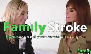 FamilySTROKE.net - Perfect Mammy and Lesbian Step-Daughter
