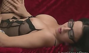 KIK: Alisas69 - Desirable non-specific in sexy fishnet nylons wanking