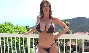 Stepmom alexis fawx uses stepson approximately fulfill say no to licentious needs