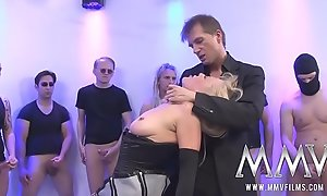 German Mummy Assfuck Group-sex Bukkake
